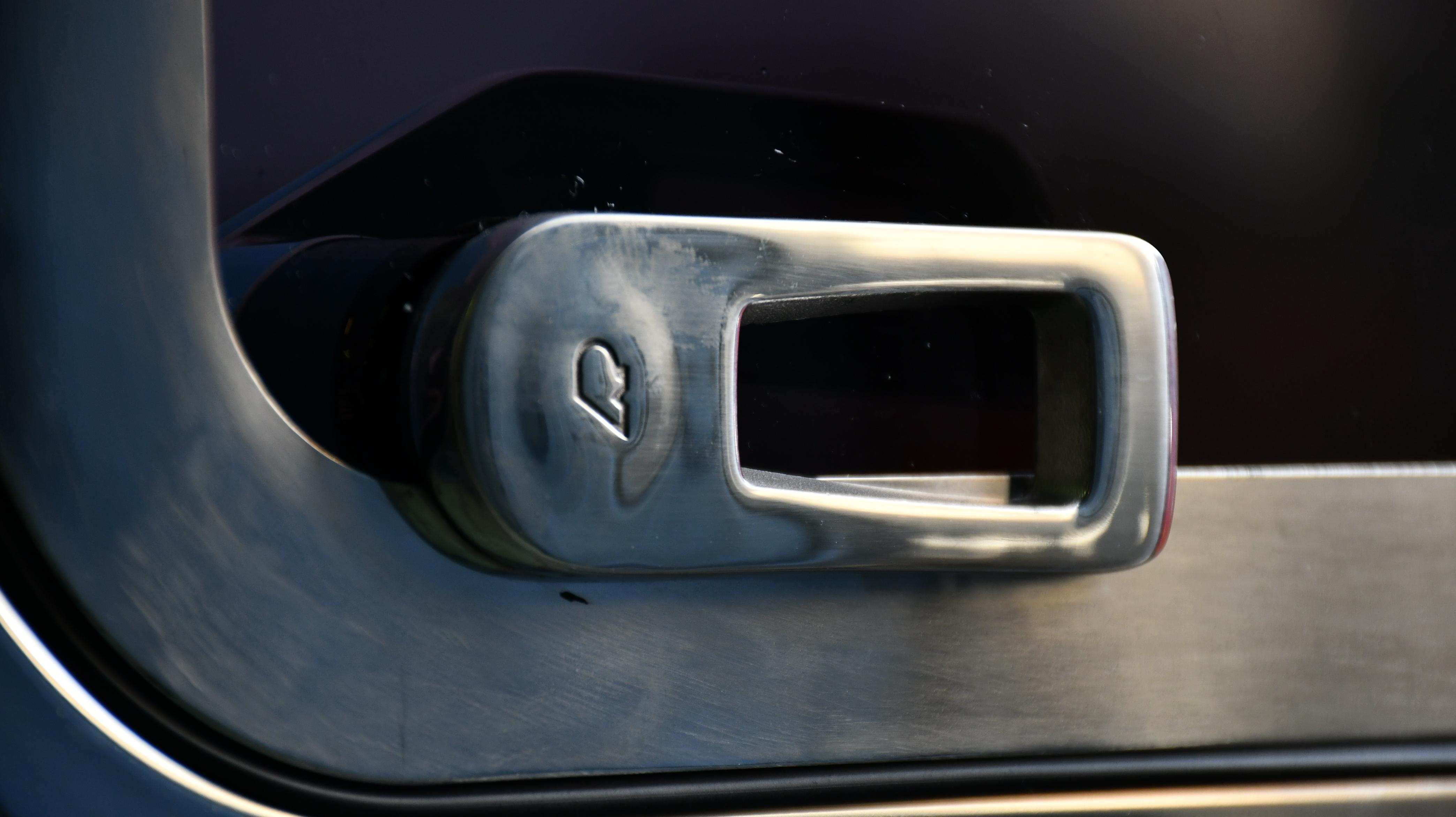 Outside handle